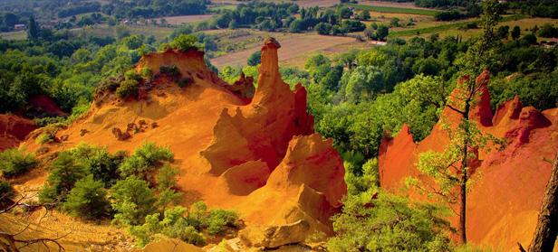 visiter la provence colorado provençal